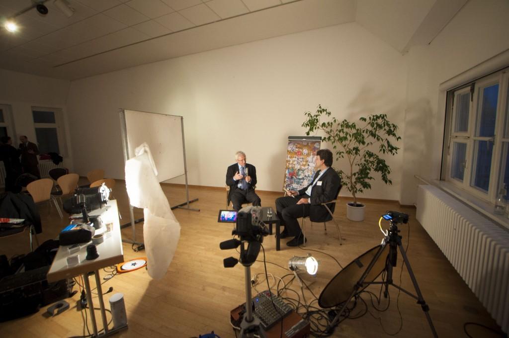 Matthias Garscha im Gespräch mit Joseph Huber