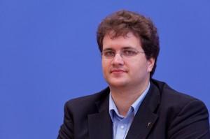 Sebastian Nerz, Vorstandsmitglied der Piratenpartei Deutschland (Quelle: Wikipedia)